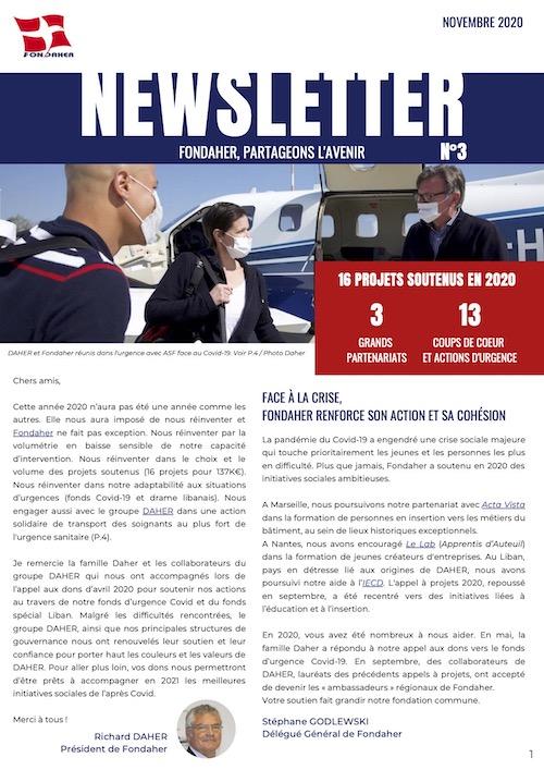 Newsletter Fondaher 2020