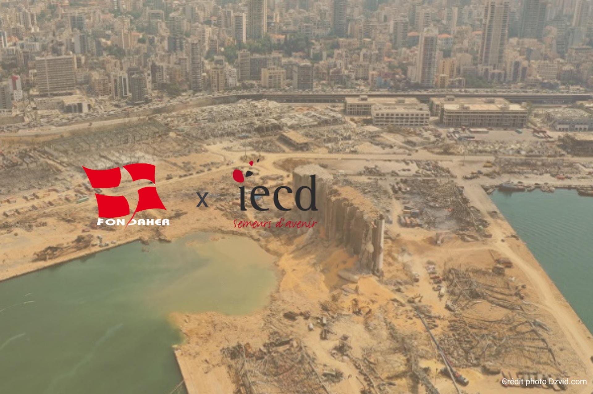 Fondaher aide l'IECD face à l'urgence du Liban